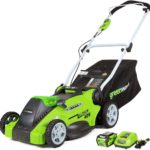 Greenworks 16-inch 40v Cordless 25322 Lawn Mower Review