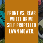 Front Or Rear Wheel Drive Self-propelled Lawn Mower.